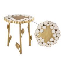 Flor Handpainted Side Table