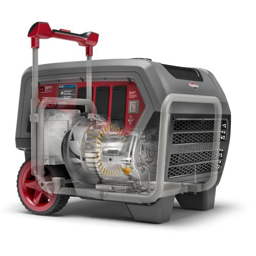 Briggs and Stratton - Q6500 Inverter Generator with CO Guard ® - Quiet Confidence, now with CO Guard™