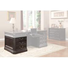GRAND MANOR PALAZZO Executive Left Desk Pedestal