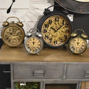 Gunpowder and Brass Gears Table Top Clock