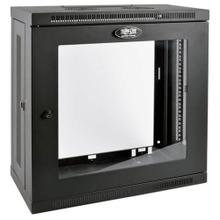 See Details - SmartRack 12U Very Low-Profile Patch-Depth Wall-Mount Small Rack Enclosure, Clear Acrylic Window