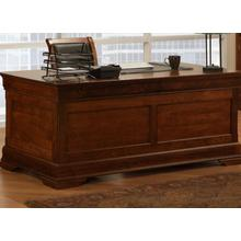 See Details - Phillipe 28x66 Desk with 2 File Dwrs & Pencil Dwr/Keyboard Tray