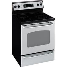 "GE® 30"" Free-Standing Electric Range (This is a Stock Photo, actual unit (s) appearance may contain cosmetic blemishes. Please call store if you would like actual pictures). This unit carries our 6 month warranty, MANUFACTURER WARRANTY and REBATE NOT VALID with this item. ISI 34335"