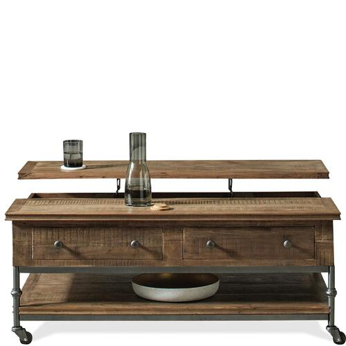 Revival - Lift-top Coffee Table - Spanish Grey Finish