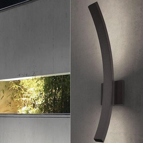 Sonneman - A Way of Light - L'Arc Grand LED Sconce [Color/Finish=Textured Bronze]
