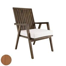 See Details - Teak Garden Patio Chair in Euro Teak Oil