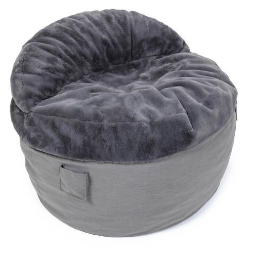 Cordaroys - King Chair - NEST Bunny Fur - Beige