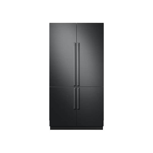 "Fingerprint Resistant Black Matte Stainless Accessory Kit for 42"" Built-in Refrigerator"