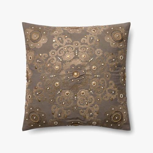 P0440 Grey / Gold Pillow