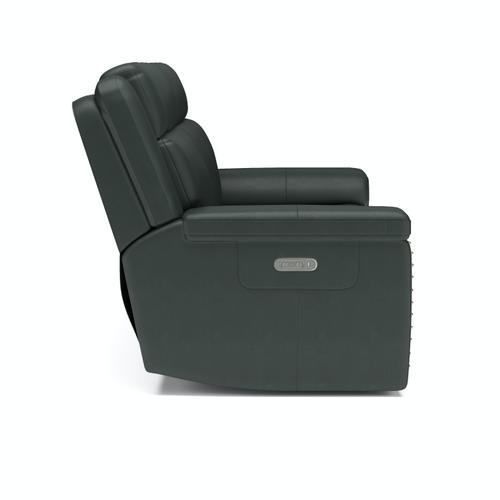 Flexsteel - Yuma Power Reclining Sofa with Power Headrests