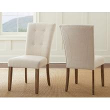 Debby Side Chair - Beige