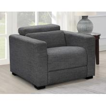See Details - Zara Dual-Power Recliner, Charcoal
