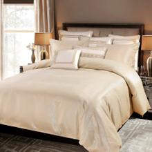 3 PC Marilyn Duvet Set, Gold - Super King