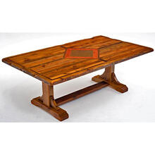 Mustang Canyon Timber Frame Table - 6′-8′ - 8′
