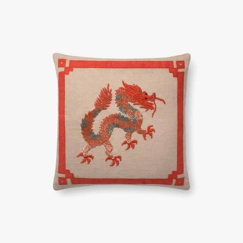 P0676 Natural / Rust Pillow