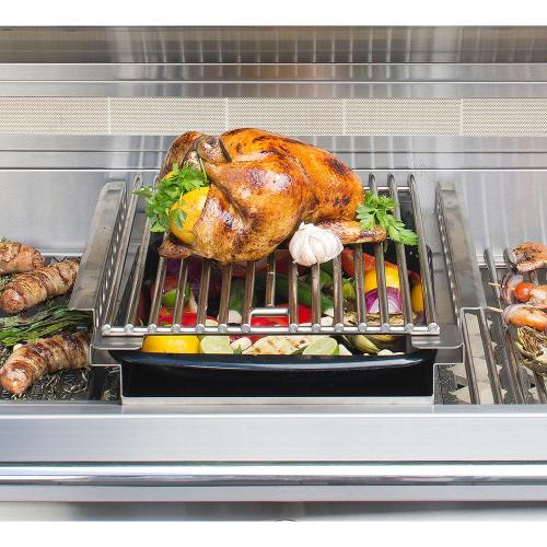 Alfresco - GRILL MOUNTED COOKING POD