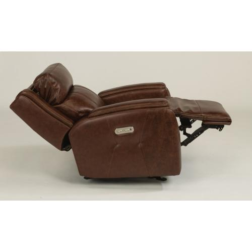 Product Image - Zara Leather Power Gliding Recliner with Power Headrest