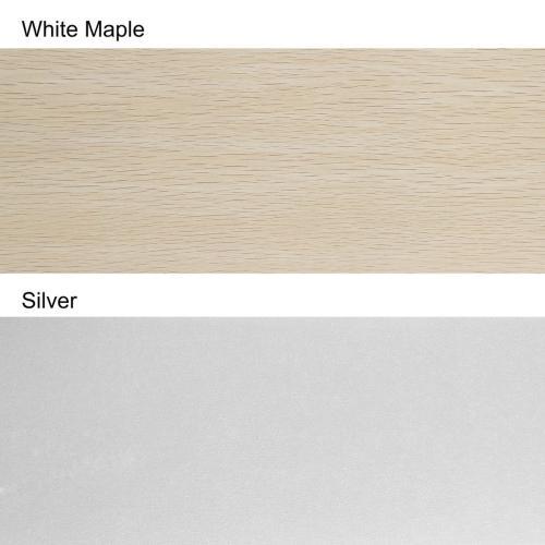 Safavieh - Dresher Ceiling Light Fan - Silver / White Maple
