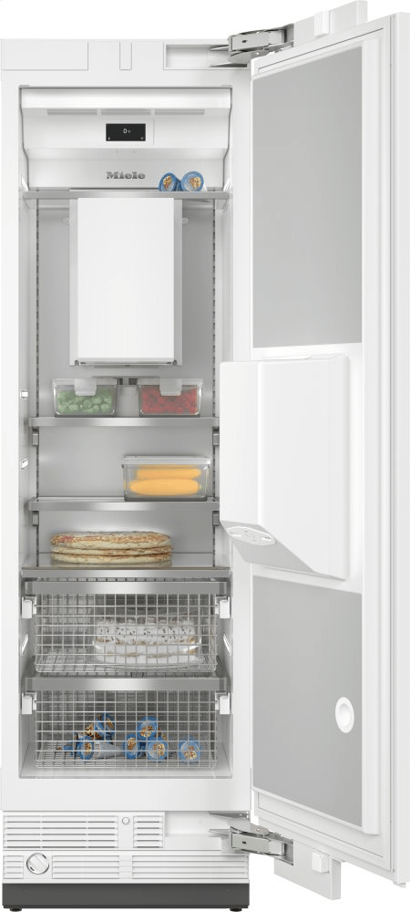 MieleF 2662 Vi - Mastercool™ Freezer Integrated Icemaker Features Separate Water And Ice Dispensers.