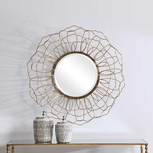Uttermost - Rosie Round Mirror