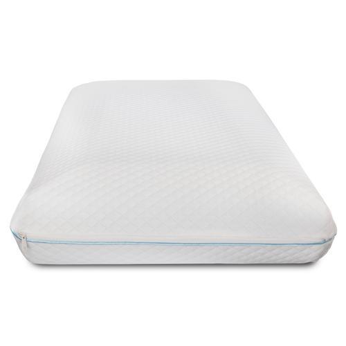 Flash Furniture - Capri Comfortable Sleep Memory Foam Gel Queen Pillow
