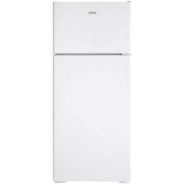 Hotpoint Hotpoint® 17.5 Cu. Ft. Recessed Handle Top-Freezer Refrigerator