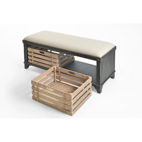 Artisan Landing Storage Bench