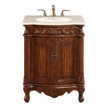 See Details - 27 In. Single Bathroom Vanity Set In Brown