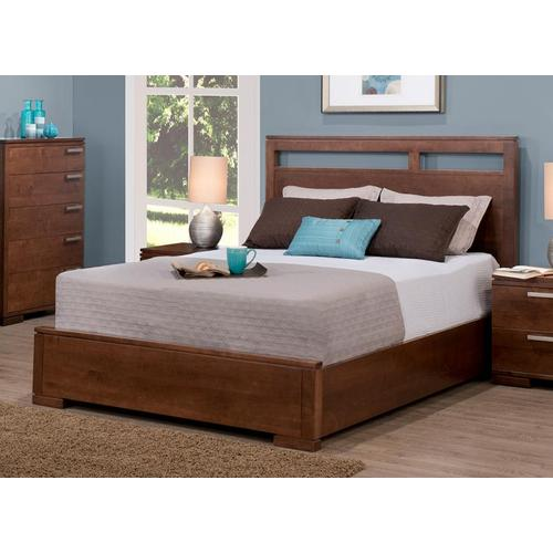 """- Cordova Queen Bed with 15"""" Low Footboard"""