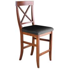 La Croix Counter Chair - Upholstered Seat