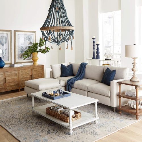 Tropic Square Lamp Table