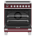 """Fisher Paykel Induction Range, 30"""", 4 Zones, Self-Cleaning"""