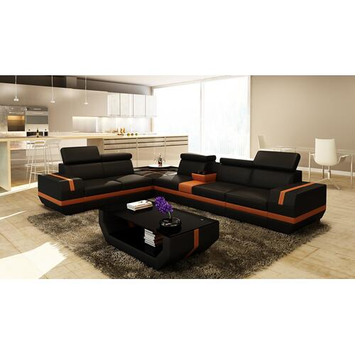 Divani Casa 5099C Modern Bonded Leather Sectional Sofa