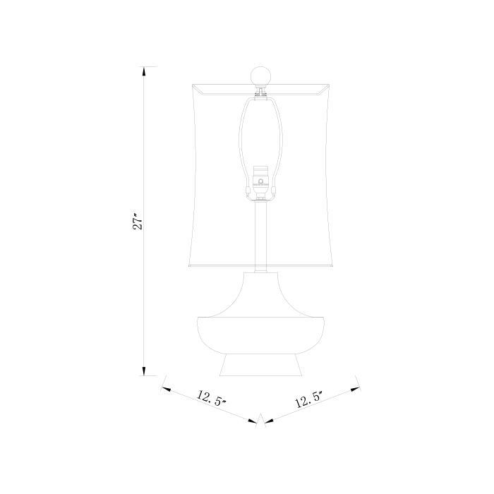 """Product Image - Brookhaven LMP-1039 27""""H x 13""""W x 13""""D"""