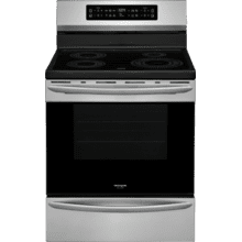 Scratch & Dent Frigidaire Gallery 30'' Freestanding Induction Range