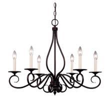 See Details - Oxford 6 Light Chandelier