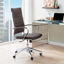 See Details - Jive Highback Office Chair in Brown