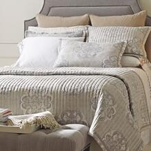 Elan Quilt & Shams, PLATINUM, KING