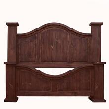 View Product - Queen Arched Medio Bed