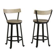 See Details - Melenski Counter Height Bar Stool