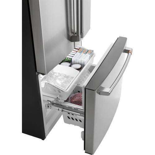GE Appliances - Café ENERGY STAR® 18.6 Cu. Ft. Counter-Depth French-Door Refrigerator