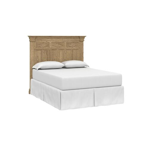 Woodridge King Panel Bed, Footboard Low