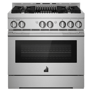 "JennAirRISE 36"" Gas Professional-Style Range with Grill"