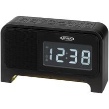 Digital Dual Alarm Soothing-Sounds Clock Radio with Night Light