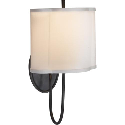 Visual Comfort BBL2017BZ-S Barbara Barry Simple 1 Light 9 inch Bronze Decorative Wall Light