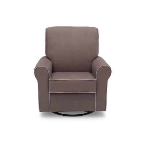 Rowen Upholstered Glider - Graphite with Dove Grey (944)