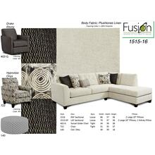 Plush Tones Linen- 2 Piece Sectional