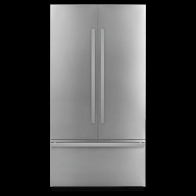 """JennAirNoir 42"""" Fully Integrated Built-In French Door Refrigerator Panel-Kit"""