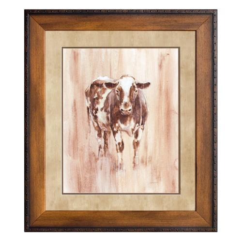 WOOD PANEL COW