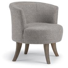 View Product - STEFFEN Swivel Barrel Chair